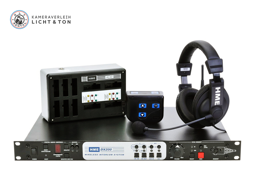 Kameraverleih Licht & Ton KLT GmbH | HME DX 200 Wireless Intercom System