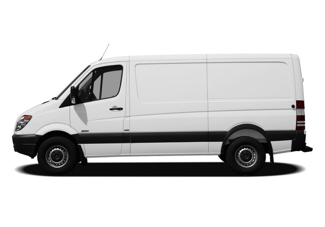 2012-Mercedes-Benz-Sprinter-Minivan-Van-Normal-Roof-Sprinter-2500-Cargo-Van-144-in.-WB-Exterior-Profile